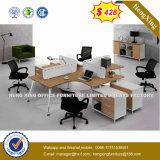 Guang Dong couleur chêne Bureau de poste de travail permanent de la partition (UL-MFC583)