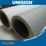 Unisign открытый и крытый рекламные материалы Fronlit баннер материала из рулона