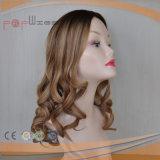 Peruca judaica superior de seda Charming de Sheitel do cabelo humano (PPG-l-0457)