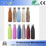Ecológico 18oz/500ml em aço inoxidável inchaço com isolamento térmico garrafa de água