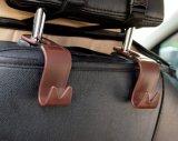 Gancho do Headrest do carro organizador universal do armazenamento do gancho do Headrest do banco traseiro do carro do veículo de 4 blocos