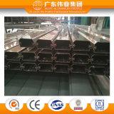El aluminio de la electroforesis de Champán de la alta calidad sacó perfil