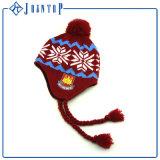 Signora Knit Earflap Hat di modo del reticolo del Beanie del Knit
