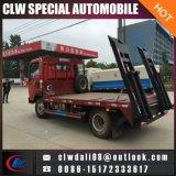 4*2 최신 판매를 위한 작은 평상형 트레일러 견인 트럭