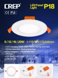 90mm 잘린 크기 6W LED 정연한 LED 위원회, 승인되는 세륨 SAA