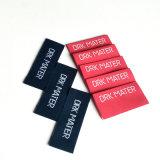 Ofício personalizado e fino etiqueta tecida para o vestuário