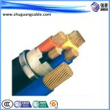 Низкий уровень дыма и ПВХ изоляцией/PVC пламенно/Al ленты показаны/Компьютер/кабель щитка приборов