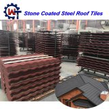 Direct Vervaardigd van de fabriek de Steen Met een laag bedekte Tegels van het Dak van het Staal