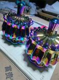 Macchina di vetro della metallizzazione sotto vuoto del Rainbow dell'oro della Rosa dell'oro dei braccialetti