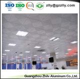Hot Sale d'absorption acoustique plafond acoustiques décoratifs en aluminium pour le banc
