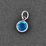 12 de kleur Birthstone&Crystal DIY charmeert Charmes van het Kristal van 2mm de Ronde