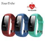 ID107 più il braccialetto astuto di forma fisica del Wristband del video di frequenza cardiaca della fascia