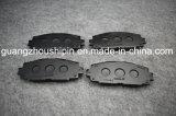 Las piezas del coche 04465-52260 compuesto de pastillas de freno para Toyota Yaris