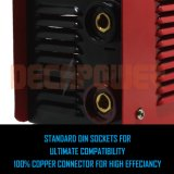 Arc-160A 110 V/220V double tension Soldador Portable MMA de la soudure de la machine de l'IGBT