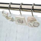 Роскошный отель душ шторки крюки с яркими полимера декоративными украшениями