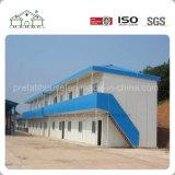 A fábrica de China fêz a sanduíche móvel a construção de aço Prefab casa modular como para casa/dormitório/escritório