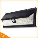 Capteur de mouvement 80 LED Lampe solaire extérieur Éclairage de sécurité