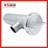 Dn65 Tipo de ángulo sanitario la ranura del filtro de tubo de 90 grados