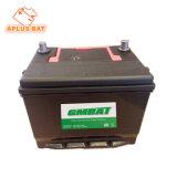 Низкие расходы на обслуживание Mf свинцово-кислотных аккумуляторных батарей 75D23R 12V65ah JIS стандарт