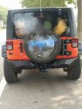 J288 Barco preta pára-choques traseiro para Jeep Wrangler Jk
