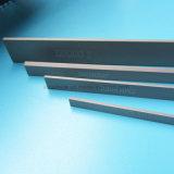 Tira de carburo de tungsteno de una cuchilla de corte utilizado en el papel de la industria y la madera