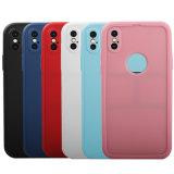 Venta al por mayor impresas de TPU silicona líquida cubierta de la caja de teléfono móvil para iPhone x
