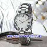 Montres-bracelet occasionnelles d'alliage de montre faite sur commande de logo (WY-025E)
