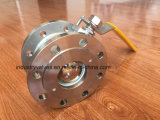 Pn16 Banco programável de Aço Inoxidável Válvula de Esfera Wafer