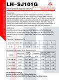 Zusammengeballter Grundbogen-Schweißens-Fluss Sj101g für API-Rohr