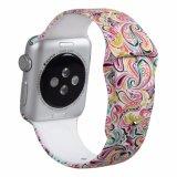 Impresos personalizados Correa de Deporte de silicona para Apple Iwatch 3/2/1 Band