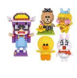 Het Blok van de Kleine Deeltjes van de Bouwstenen van het Speelgoed van het Onderwijs DIY