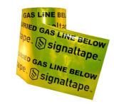 Nastri d'avvertimento rilevabili sepolti stampabili del di alluminio di avvertenza del tubo