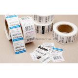 Duplex POS impreso en papel de recepción térmica Máquina de Corte y rebobinado