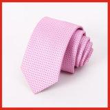 Relation étroite de bonne qualité de collet de trellis de tissu de polyester d'affaires