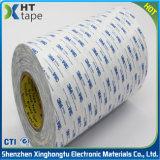 tejido revestido de la cara doble adhesiva de acrílico 9448A de los 3m de cinta de papel