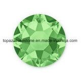 Самый новый самый лучший продавая Rhinestone Fix Peridot 2018 камень Preciosa экземпляра горячего стеклянный кристаллический (ранг /5A peridot HF-ss20)