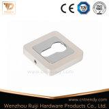 木製のドア(ZR03-CL)のための亜鉛合金の紋章ロックカバー