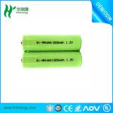 充電電池は4.8V NiMH 1800mAhを詰める