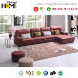 La moderna sala de estar elegante sofá de tela (HC-R571)