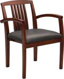Presidenza classica dell'ufficio di legno solido della mobilia con l'ammortizzatore del tessuto o dell'unità di elaborazione