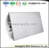 Uitstekende kwaliteit Geanodiseerd Matrijs Gegoten Aluminium Heatsink met ISO9001