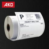 Les étiquettes de timbre-poste de Dymo pour des imprimantes d'étiquette de Labelwriter dirigent des étiquettes d'expédition de constructeur