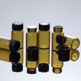 rodillo del petróleo esencial del cosmético 10ml en la botella de cristal del aplicador