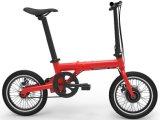 Una bici elettrica portatile da 16 pollici