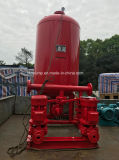 Bombero Bomba de agua para abastecimiento de agua Conjunto de bomba contra incendios