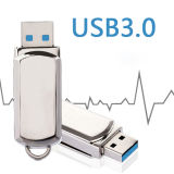 El metal de alta velocidad USB 3.0 Flash Drive Mini Pen Drive Pendrive 32GB 64 GB.