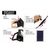 Solarsolarflut-Lampe des bewegungs-Fühler-Sicherheits-Garten-Licht-12 LED 3W