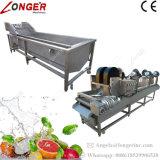 Máquina de lavar industrial do citrino do abacaxi da batata
