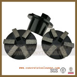 Floorex 분쇄기를 위한 구체적인 지면 다이아몬드 가는 플러그