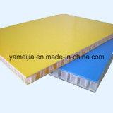 Los paneles revestidos del panal de la fibra de vidrio del gel para los acoplados y la carrocería del carro